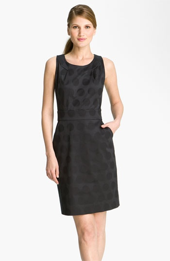kate spade new york 'alme' polka dot dress