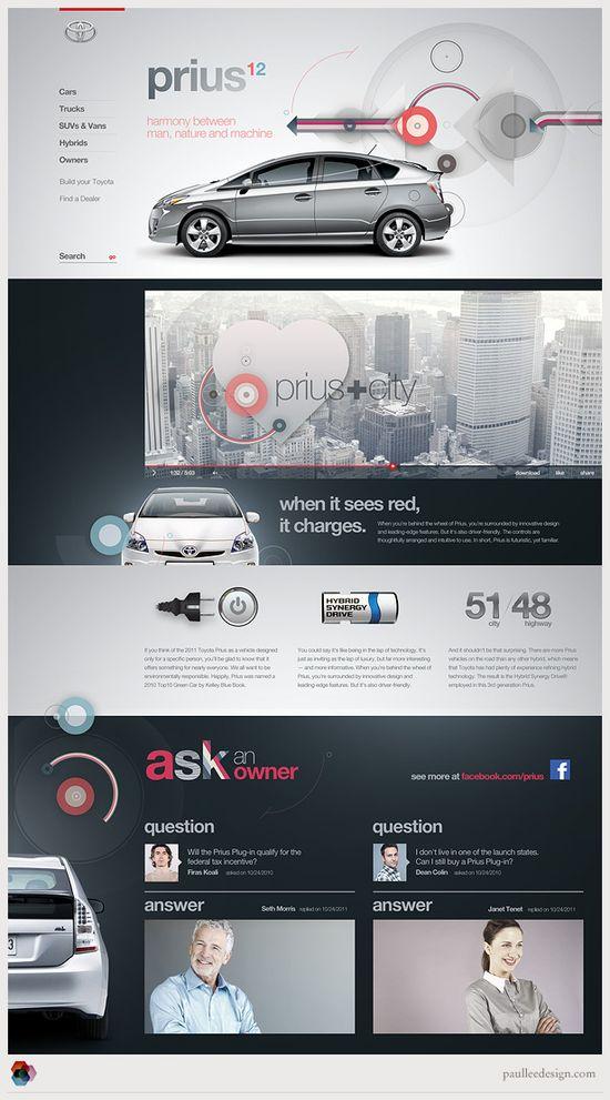 #Website #Car #UI