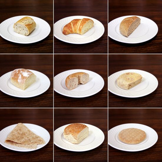 What 100 Calories of Bread Really Looks Like