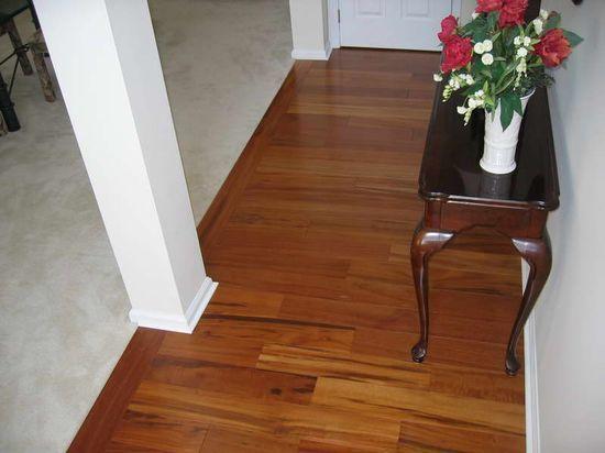 brazilian koa flooring decoration with