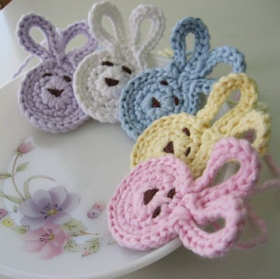 handmade Bundle of Baby Bunnies