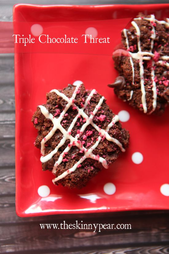 Triple Chocolate Threat Cookies (Grain-Free) - Girl Meets Nourishment