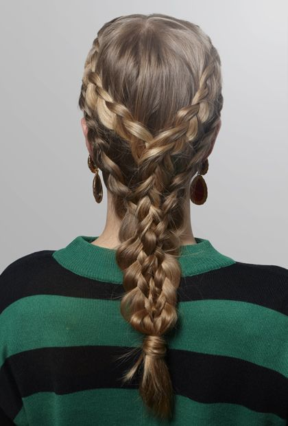 Khaleesi Braid how-to #braids #hair