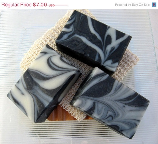 Organic Handmade Soap Activated Charcoal