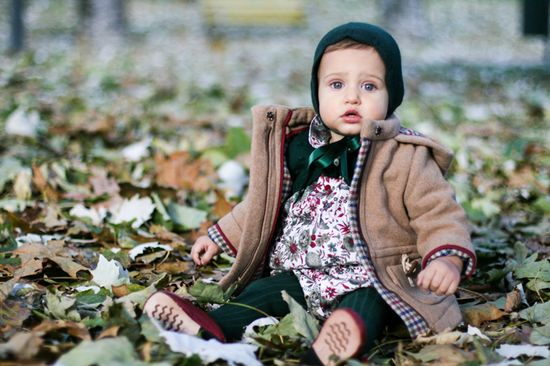 cutest baby outfit - winter