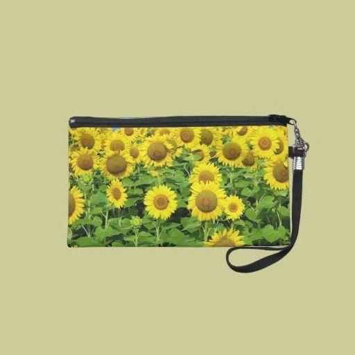 Sunflower Fields Travel Accessories