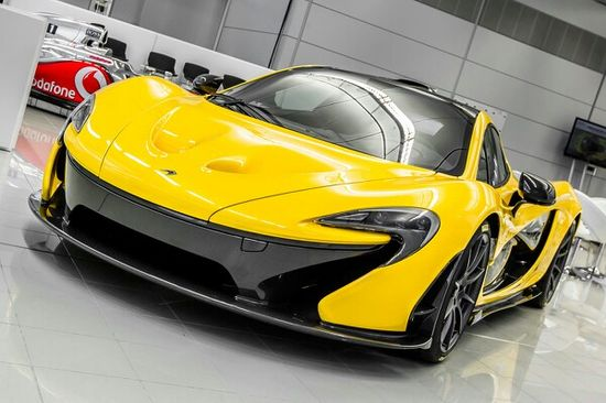McLaren P1 #likeaboss Win the 'ultimate track day' experience by clicking on this cool image