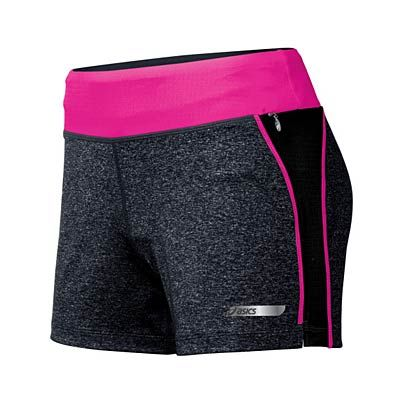 These Asics Abby workout shorts are both flattering and comfortable. #fitness #giftguide #holiday