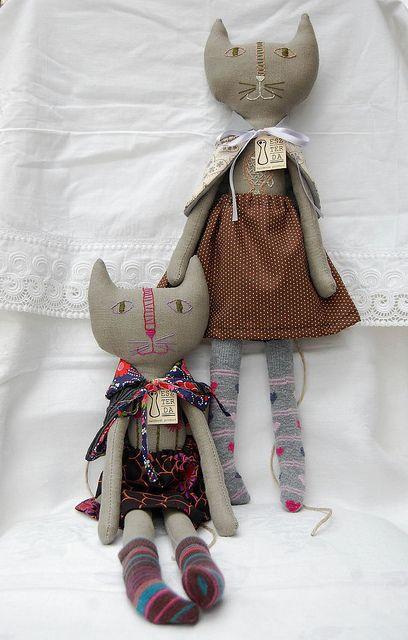 cute cat dolls