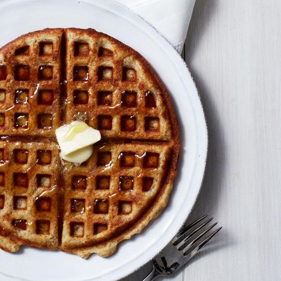 Almond Waffles // More Wonderful Waffle Recipes: www.foodandwine.c... #foodandwine