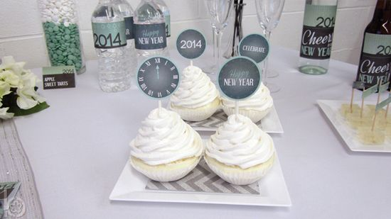 New Year's Party Ideas #newyears #partyideas