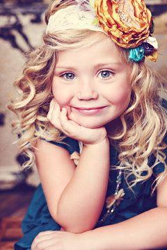 adorable... love the hair and headband