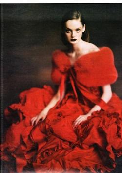.lovely red.