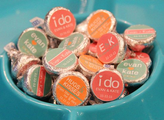 $12 for 100 labels!  Heck yes!  Can order in shower colors with wedding shower date and wedding date