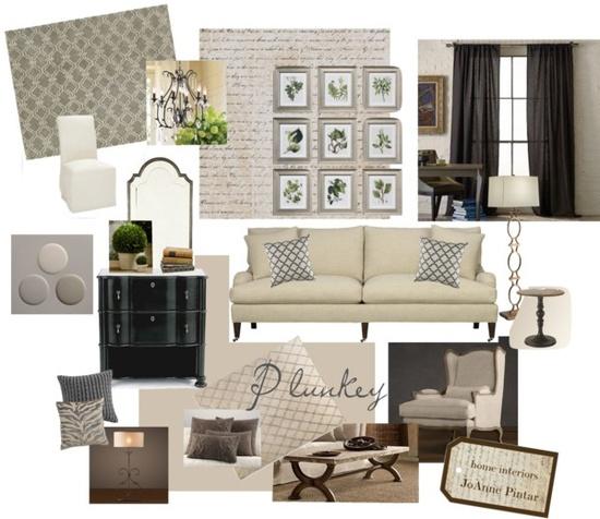 """Plunkey Living Room"" by jjpintar on Polyvore"