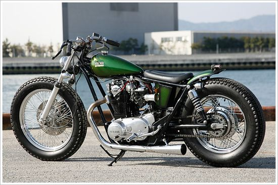 Badass Yamaha XS650