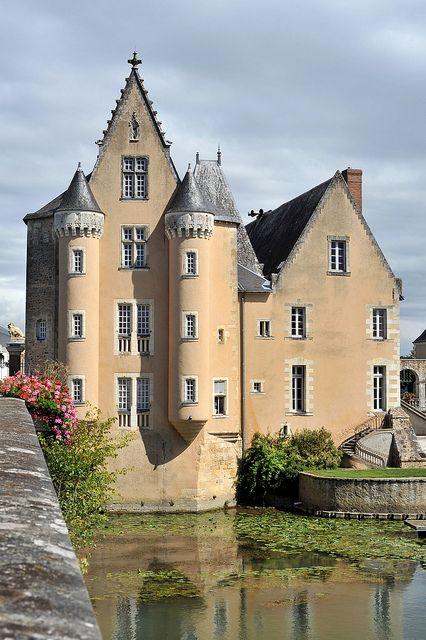 Château des Carmes à La Flèche, Sarthe, France