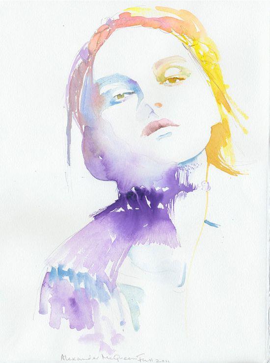 Alexander McQueen Fall / Cate Parr