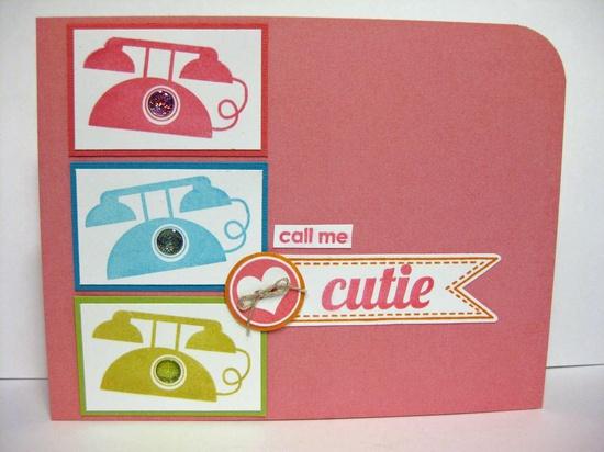 Call Me Cutie - Scrapbook.com