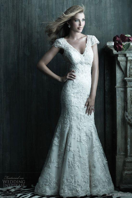 allure couture wedding dress 2012 c207