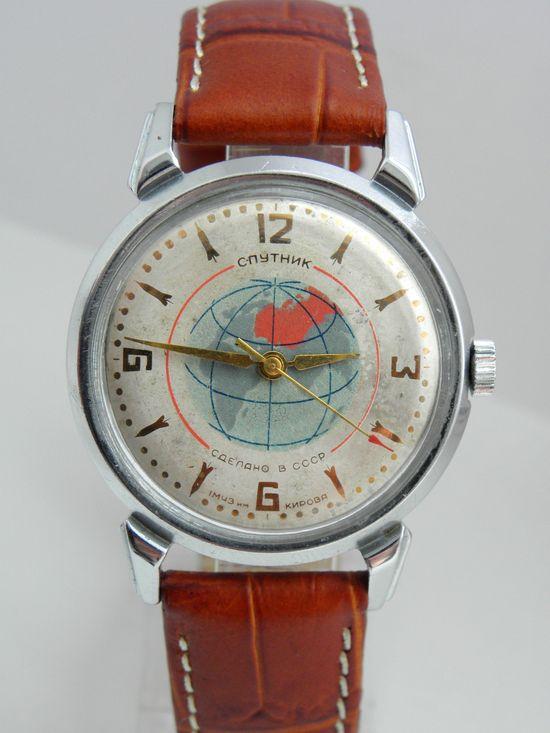 Original Sputnik Soviet Watch