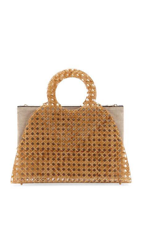 Wicker Zehava Handbag by Charlotte Olympia Now Available on Moda Operandi
