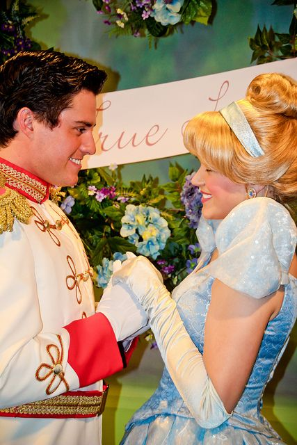 Cinderella and her Prince Charming ?