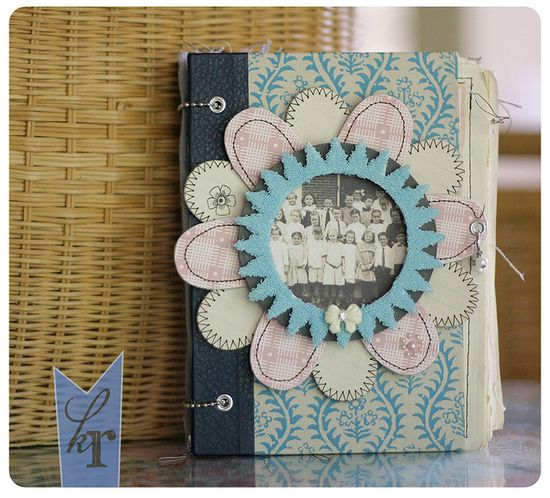 such a pretty lil journal!! by Kerry Lynn Yeary