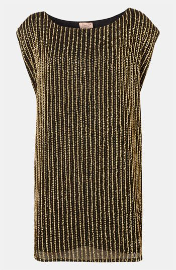 Topshop Embellished Shift Dress #Nordstrom #britishstyle