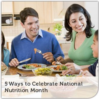5 Ways to Celebrate National Nutrition Month