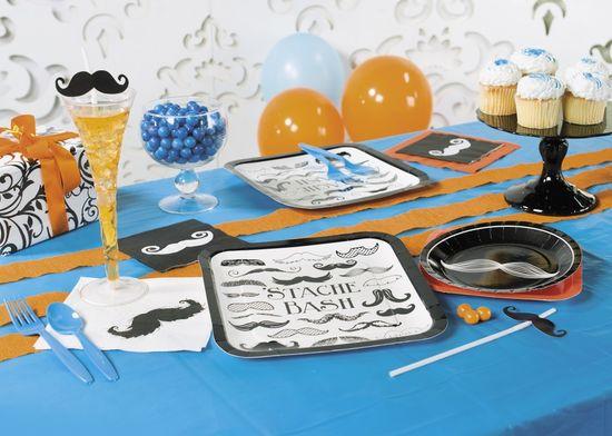 Mustache Theme Party Ideas