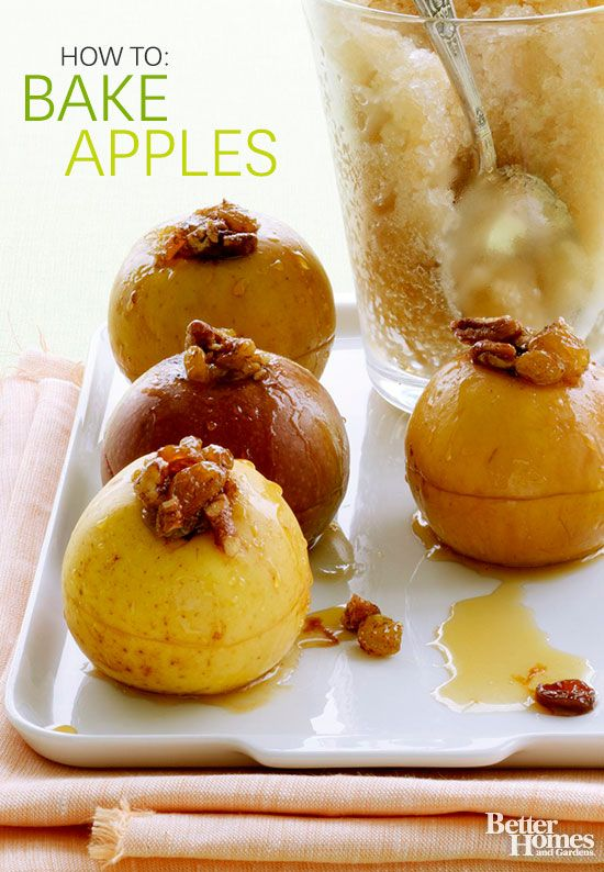 Learn how to make delicious baked apples! We'll show you how easy it is to create an apple-filled dessert: www.bhg.com/...