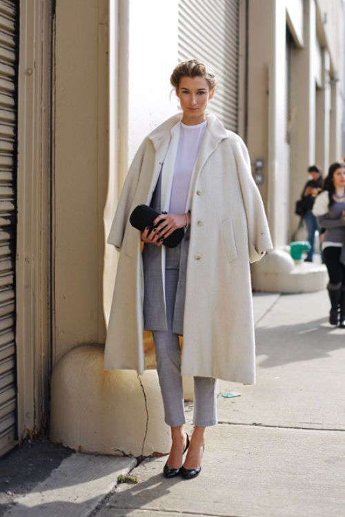 layer coats and cardigans