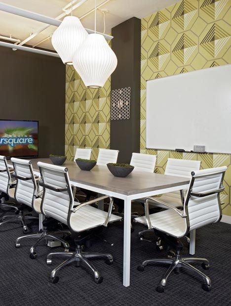 Foursquare New York with Herman Miller Eames chairs