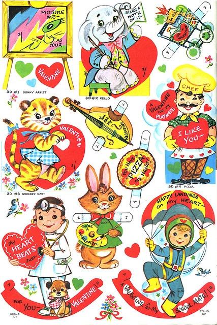 Vintage Valentine cards