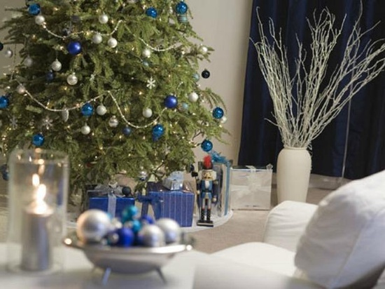 Blue and white Christmas!