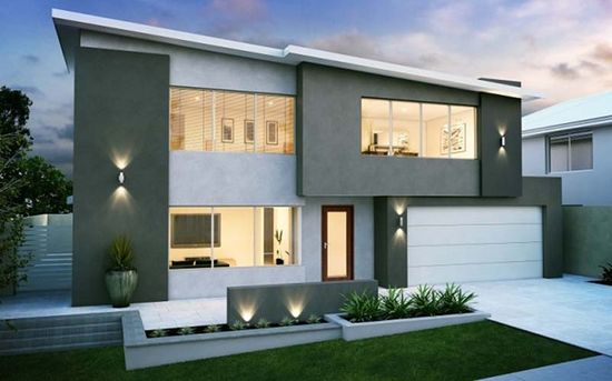 Modern Home Design with 2 Floor....