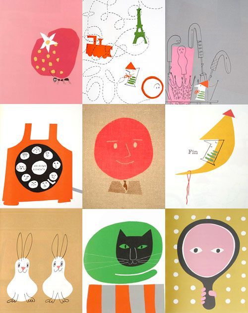 illustrations from Ann and Paul Rand books