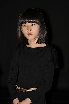 Kim Sae-Ron @ 2011 BIFF  (photo taken by AsianWiki CC BY-NC-ND 3.0)- 2010 Korean film, The Man From Nowhere