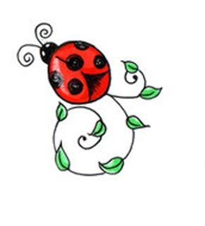 Ladybug Tattoo Pattern5.jpg (290×320)