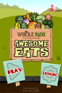 Sort, stack, pack and plate a rainbow of fresh-from-the-garden foods in this FREE app from the Whole Kids Foundation. #game #kids #nutrition #teach #iphone #ipad #app