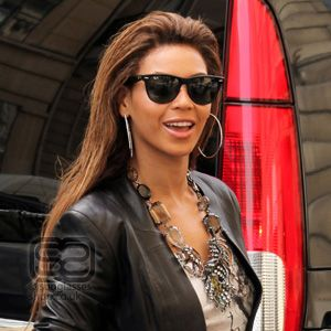Beyonce rocks her RayBan shades with pride #celebrity #NeverHide #RayBan #RealStyle #Glasses #Sunglasses #Shades