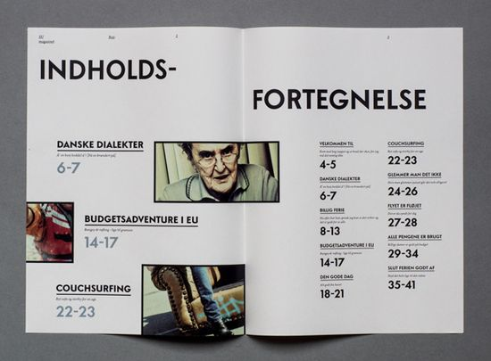 SU Magasinet by Morten Rosendal // #layout #graphic #design