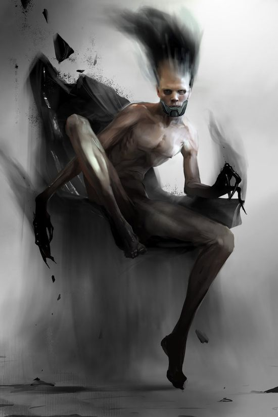 #painting #illustration #art #sketch #digital-art #2d-digital #Adams-Brenoch #horror