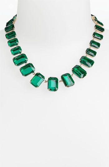 Tasha Collar Necklace #emerald #coloroftheyear #Nordstrom