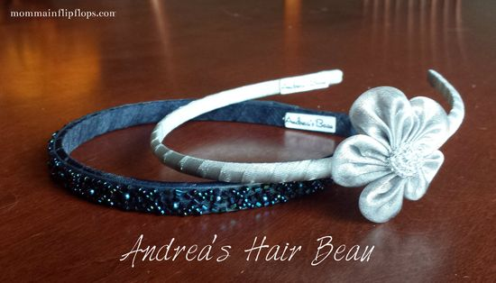 Andrea's Beau Hair Accessories -- gorgeous headbands