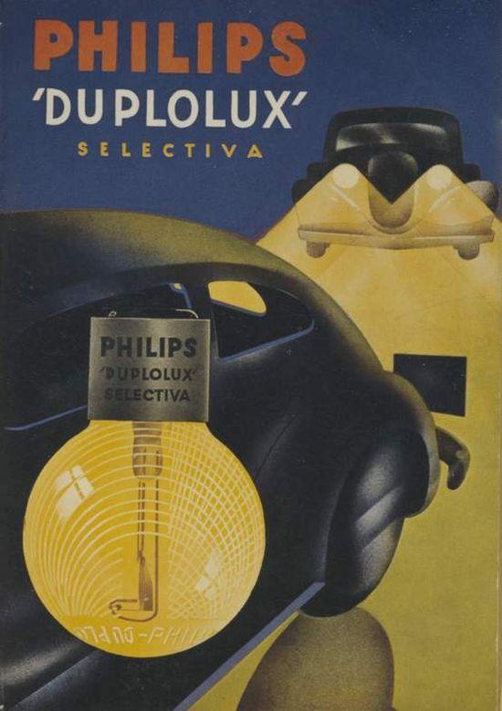 Philips Duplolux Advertisement ca 1938