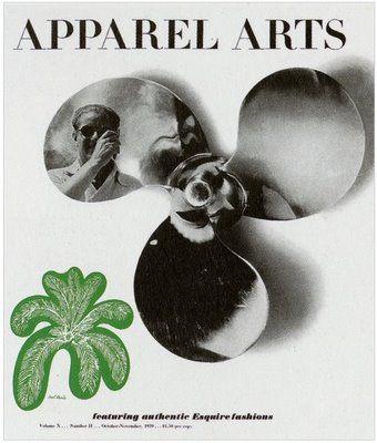 paul rand june 1939 apparel arts cover