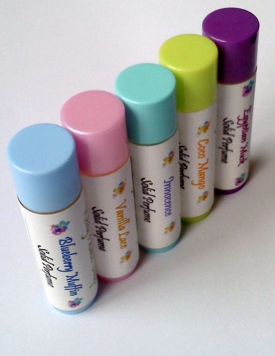 Vegan solid perfumes from Kelly's Bath...can't wait to try these!