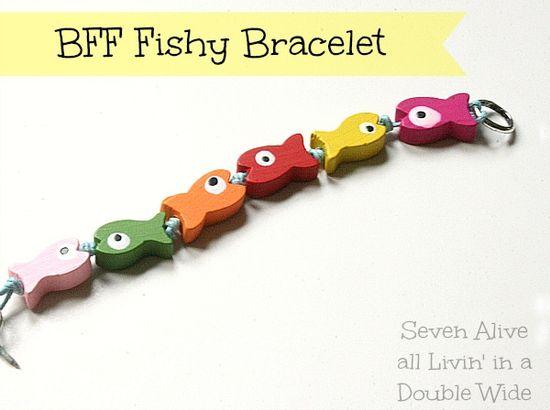 Easy Best Friend Forever Bracelets - The Inspiration Network